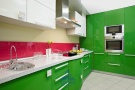 Кухня Система глянец зеленый (м.пог.)