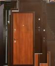 Входные стальные двери. ДС 250 870*2050 левая. Ит.орех.