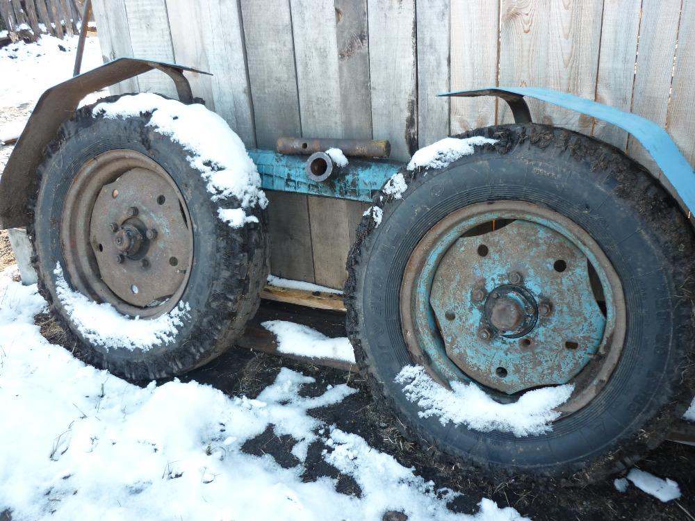Долгий пуск трактора МТЗ-80 зимой!