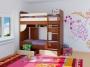 Детская двухъярусная выкатная кровать Дуэт-7.Высота верхнего спального...