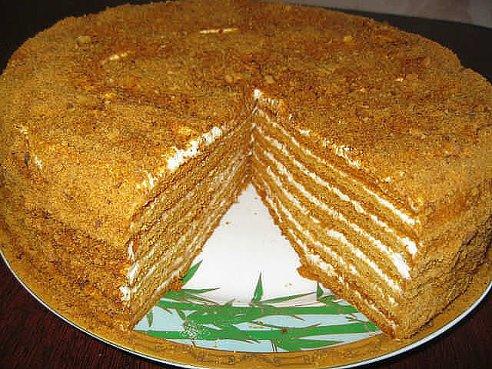 В архиве домашние торты микадо
