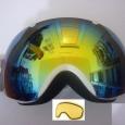 """маска VIZZO """"Spherix rainbow mirror"""" белая оправа, Новосибирск"""