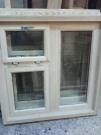 Деревянное окно производство, верандное дачное стеклопакет 16мм  (м2)