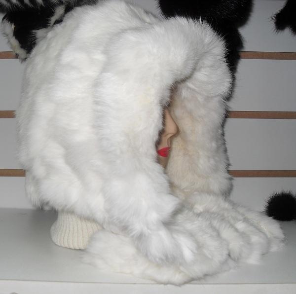 Как сшить шапку из меха кролика своими руками и выкройки