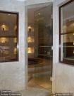 Дверь из закаленного стекла для туалетных и ванных комнат (м2)