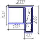 Балконный блок VEKA Softline (5 камерный профиль)
