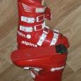 Ботинки женские красные Alpina Alpha, Новосибирск