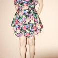 Платье в цветок, яркое. Новое!, Новосибирск