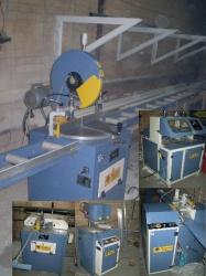 Продаеться линия - полный комплект бу обуродования для производства окон ПВХ (Озгенч Турция)и алюминевых конструкций...