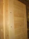 Дверь входная деревянная, производство, тёплая толстая  (м2)