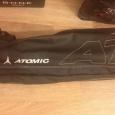 Продам горнолыжный комплект (лыжи, палки, чехол, ботинки, шлем, очки), Новосибирск