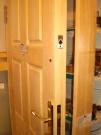 Дверь входная деревянная толстая производство по размерам,цена за  М2
