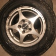 Комплект колес.  Зимняя резина на литых дисках 205/70R15  BRIDGESTONE, Екатеринбург