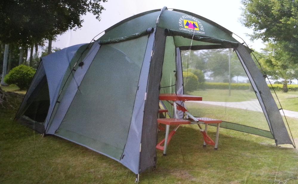 Палатка и большой шатер 470 250 190см