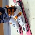 Продам детские горные лыжи с ботинками, Новосибирск