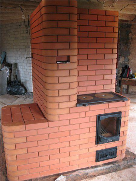 Печное отопление в доме.