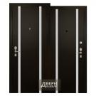 Входная металлическая дверь Торэкс,  Профессор-3 02 РР,  Венге Конго РВ-2