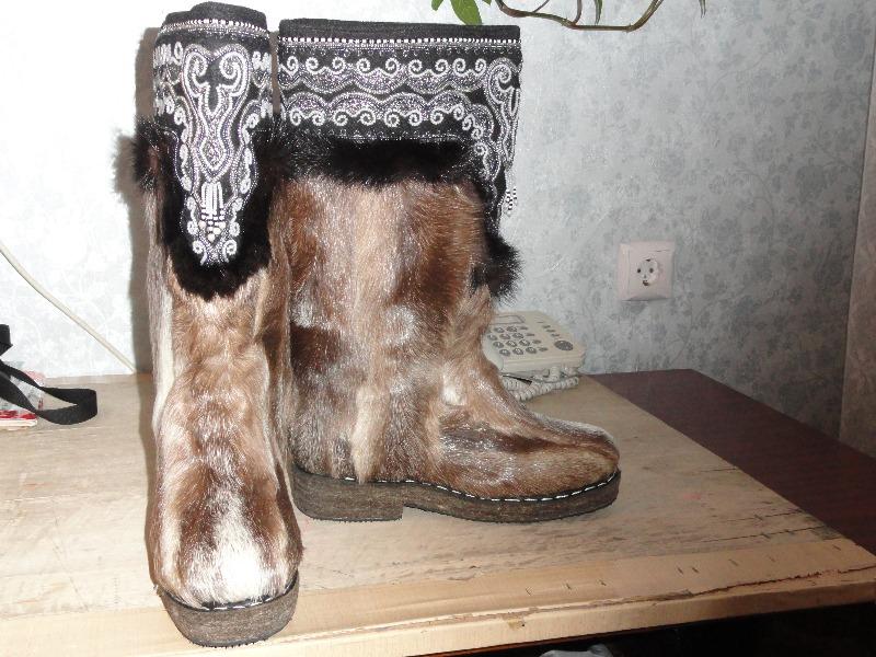 женские якутские унты фото