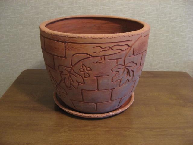 Глиняной горшок своими руками фото