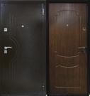 """Входная металлическая дверь """"Стройгост 7 Тёмный орех"""""""