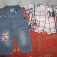 Комбинезон джинсовый и рубашка, Новосибирск