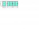 Г-образный балкон  1500х3000х800