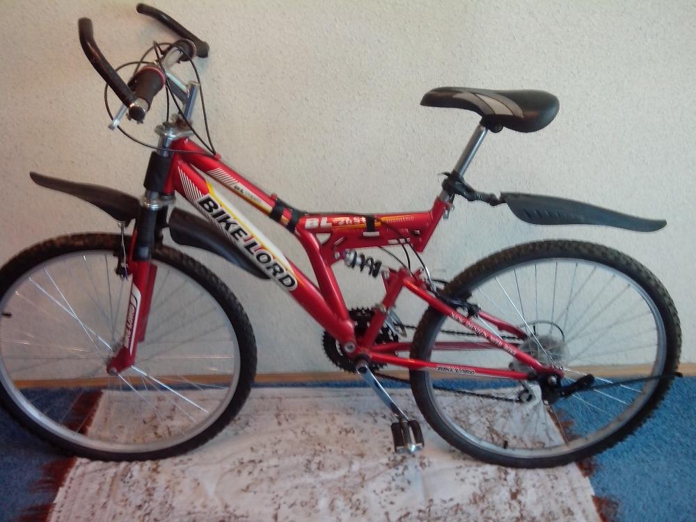 Продам горный велосипед двухподвес bike