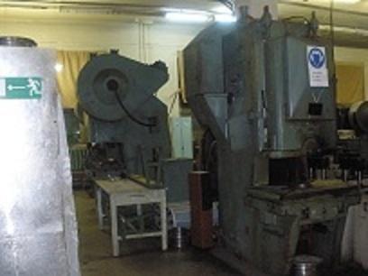 100 тонн.  Пресс гидравлический П6328Б.  Радиально сверильный 2е52.