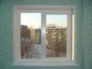2-хсворчатое окно под ключ в панельный дом 1300х1330 (5 ти этажка)