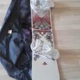 продам сноуборд с чехлом и креплениями Burton TWC Standard (Б/У), Новосибирск