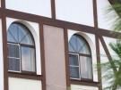 Деревянное евроокно двустворчатое из ангарской сосны
