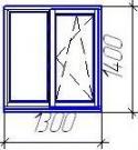 Пластиковое окно VEKA Euroline для панельного или кирпичного дома