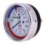 Термоманометр - конструктивно объединяет в себе два прибора: манометр и термометр в одном корпусе, имеет две шкалы...