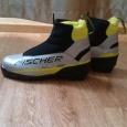 Продам детские лыжные ботинки Fischer, р-р 36, Новосибирск