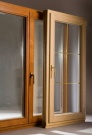 Деревянное окно двустворчатое из сосны для панельного дома (АКЦИЯ!)