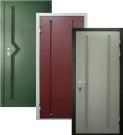 Дверь входная стальная, под заказ, размеры индивидуальные