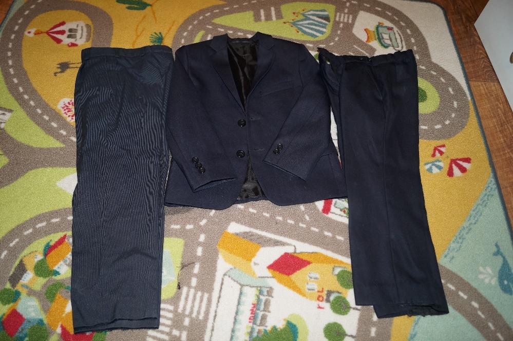 Школьный костюм для мальчика 7-14 лет: пиджак, жилет, рубашка, брюки 923