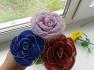 Цветы и букеты из бисера, отличный подарок своим любимым и близким, для любого праздника и просто подарка.