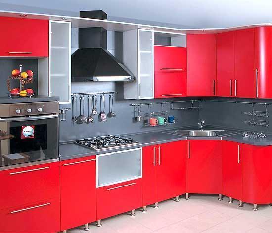 кухни фото угловые