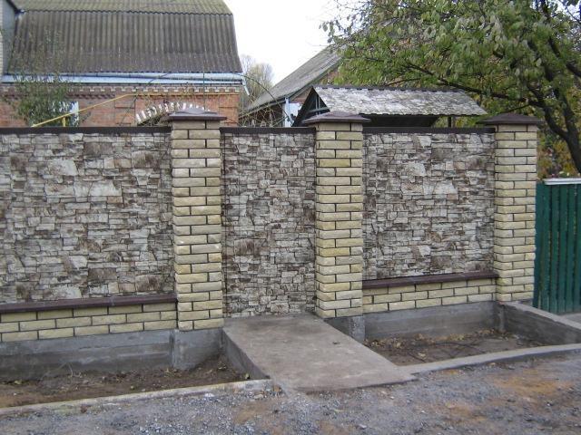 Из чего построить забор для дачи: фото ограждений из ...