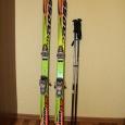 Горнолыжный комплект Rossignol, лыжи- крепление - палки - ботинки 36р, Новосибирск
