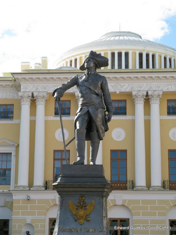 Памятник Павлу I. Автор: GooDCoFF. Фото:  flickr.com