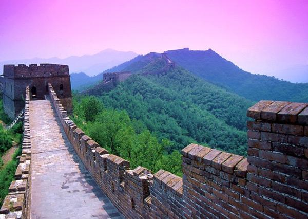 Великая китайская стена. Фото: fotoart.org.ua