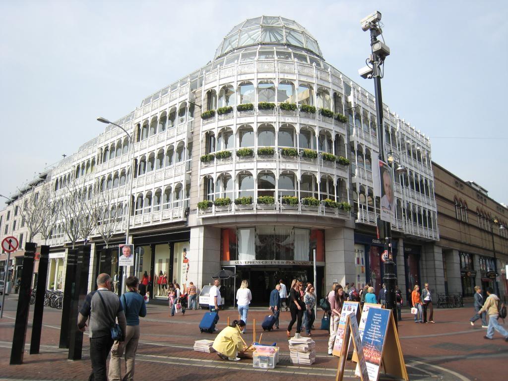St. Stephen's Green Shopping Centre. Дублин. Фото: p.soledadpenades.com
