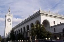 Железнодорожный вокзал станции «Сочи»