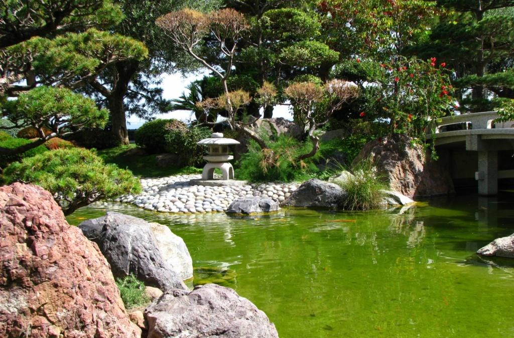Японский сад. Автор: Coralie Mercier. Фото:  www.flickr.com