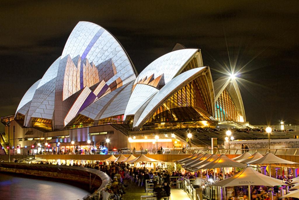 Оперный театр Сиднея. Автор: aussiegall. Фото:  www.flickr.com