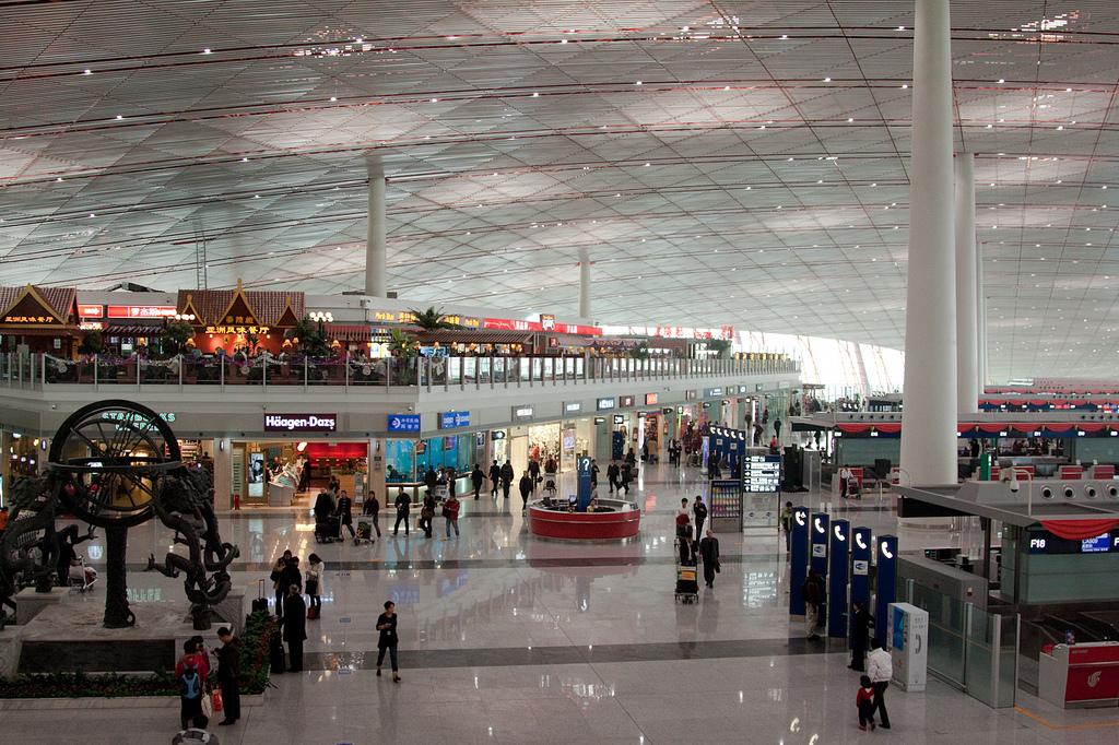 Аэропорт Пекина. Автор: Brandon Atkinson. Фото:  www.flickr.com
