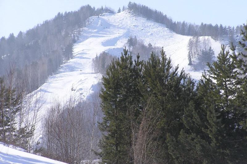 Вид на вершину г. Церковка. Фото: www.blagodat22.ru