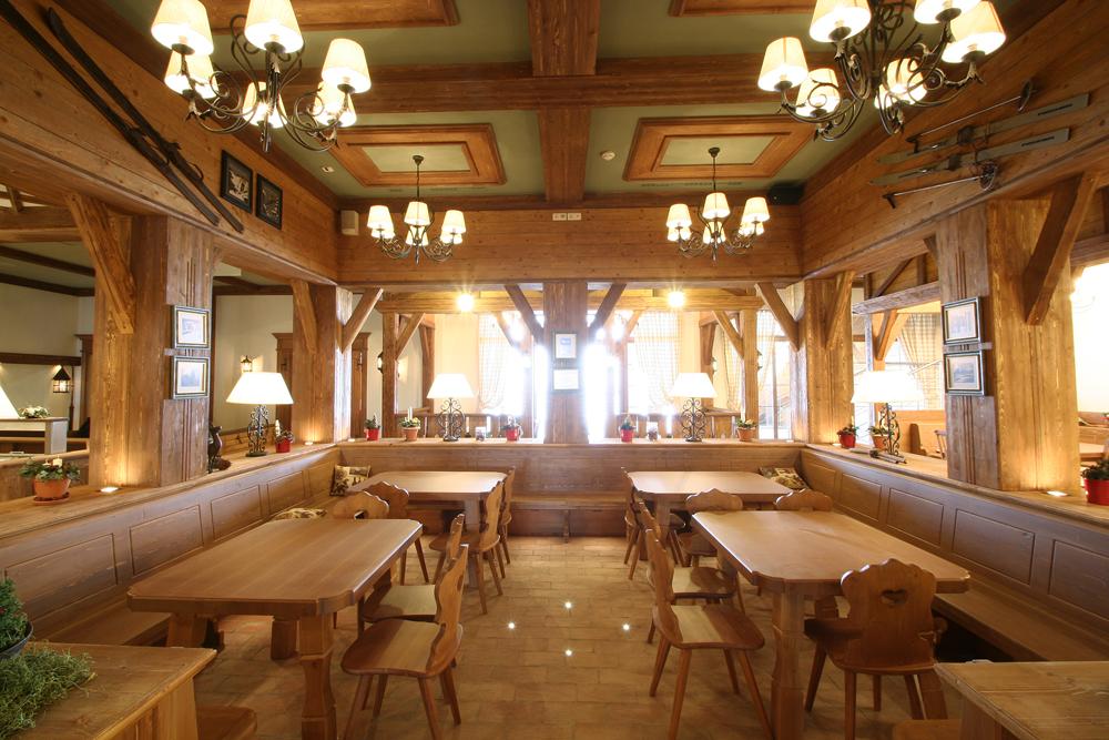 "Ресторан ""Горный приют"". Фото: www.gazprom.ru"